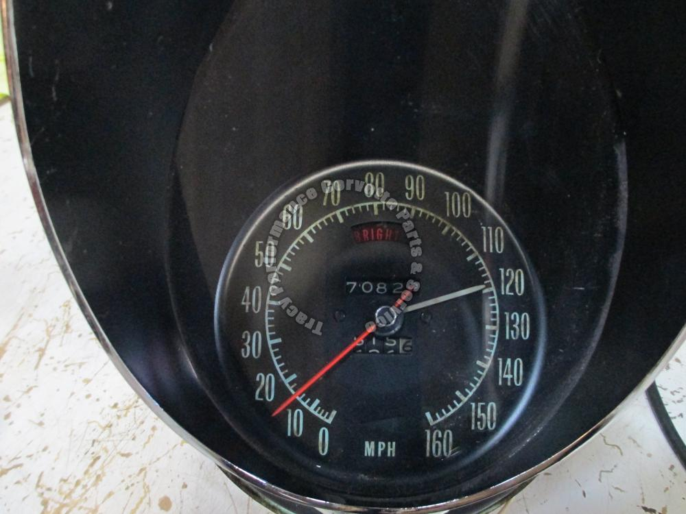 1969 Corvette Used Orig. 6491160 U15 Speed Warning Speedometer w/Harness, Buzzer