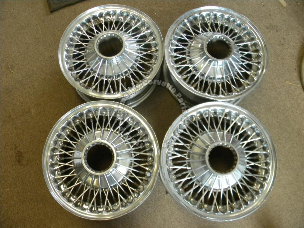 """Truck Accessories Store >> 1965-1969 Chevy Corvair Used Dayton 13"""" D48566 Wire Wheels w/Adapters, To Repair   Tracy ..."""