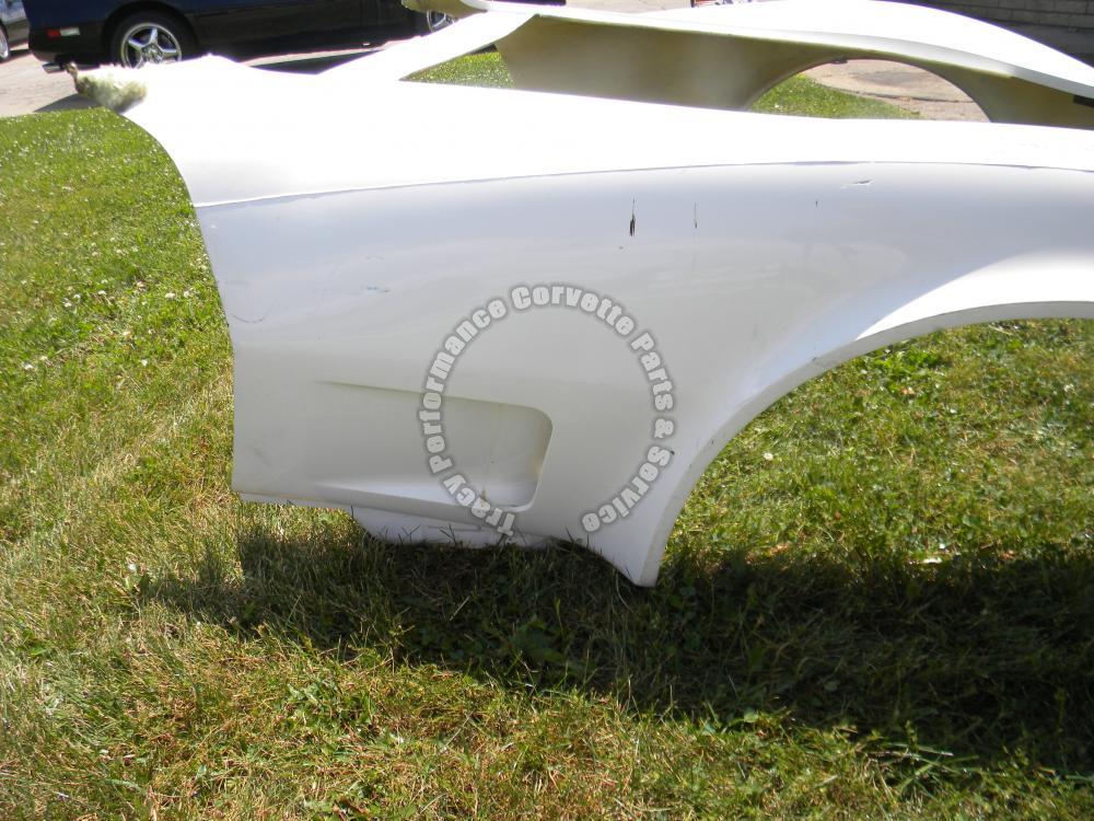 1970-1972 Corvette New 1 Piece HLU Fiberglass Front End ...