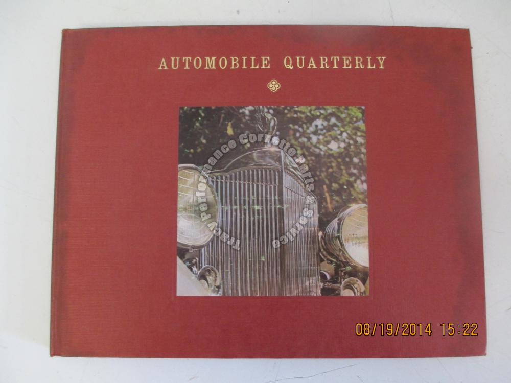 Automobile Quarterly Vol 1 No 3 62 Packard 63 Sting Ray Corvette Corvair Harrah