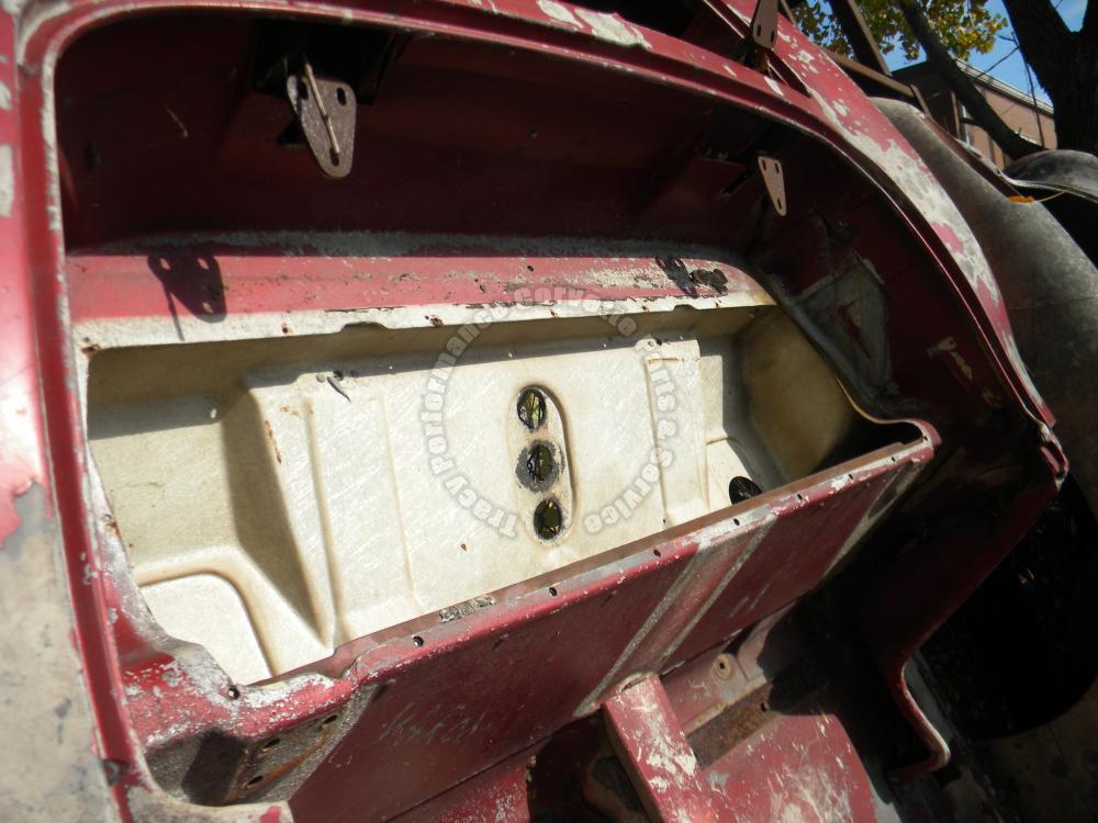 1961 1962 Corvette Used Firewall Back Body Rear Clip Empty
