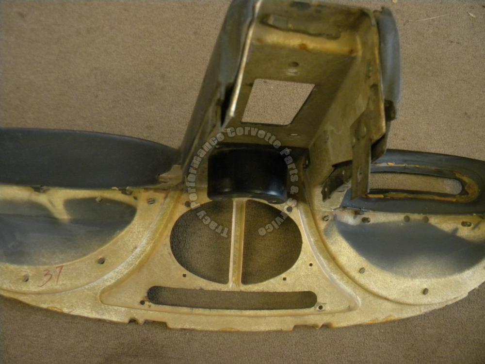 1963 63 corvette used original survivor black dash pad for General motors assembly line job description