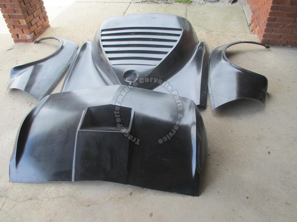 1968 1982 C3 Corvette New Mako Maco Shark Rear Fiberglass Body Kit 68 69 1970 82 Ebay