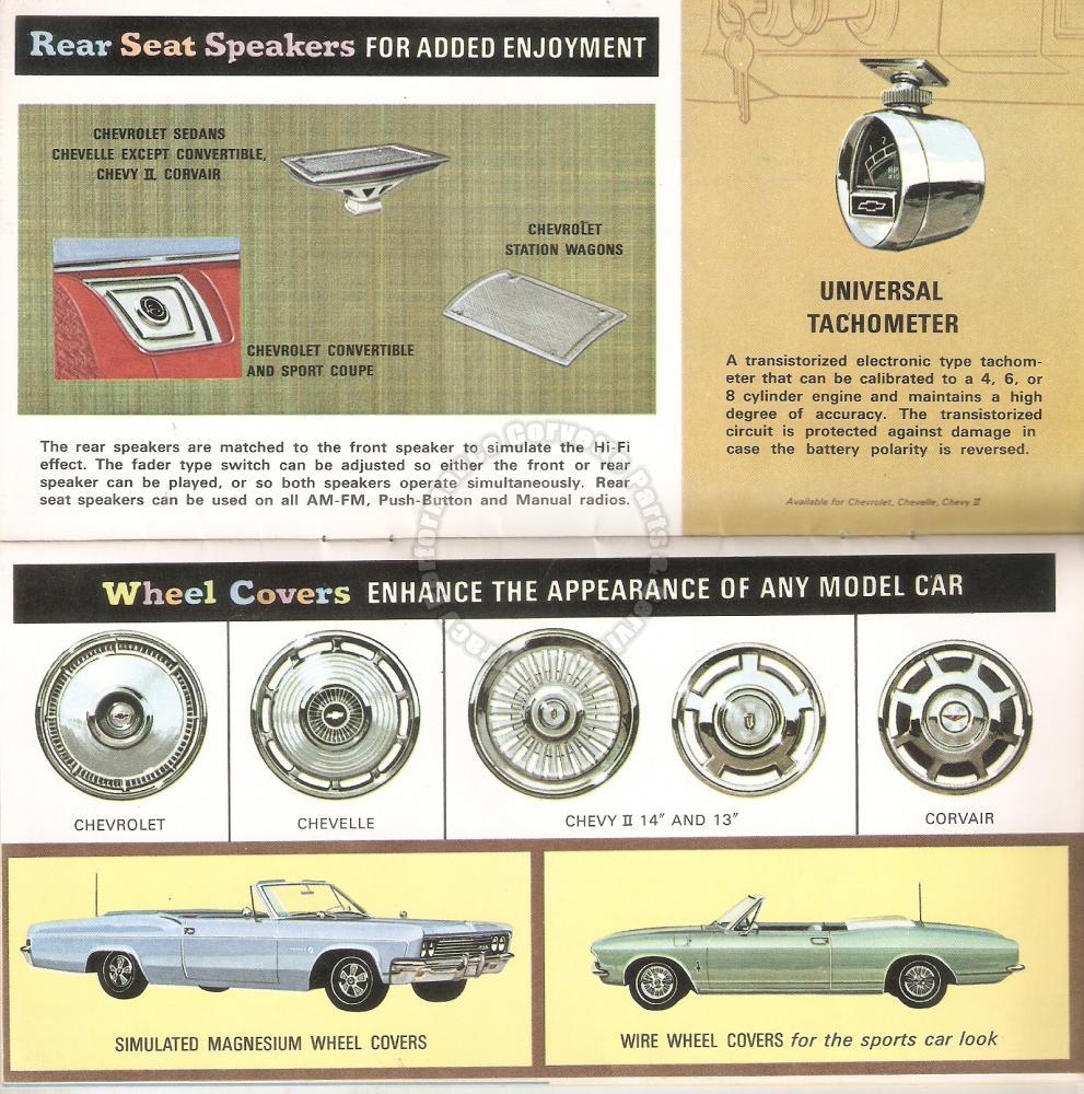 1966 Chevrolet Chevelle Corvair Corvette & Chevy II Dealer