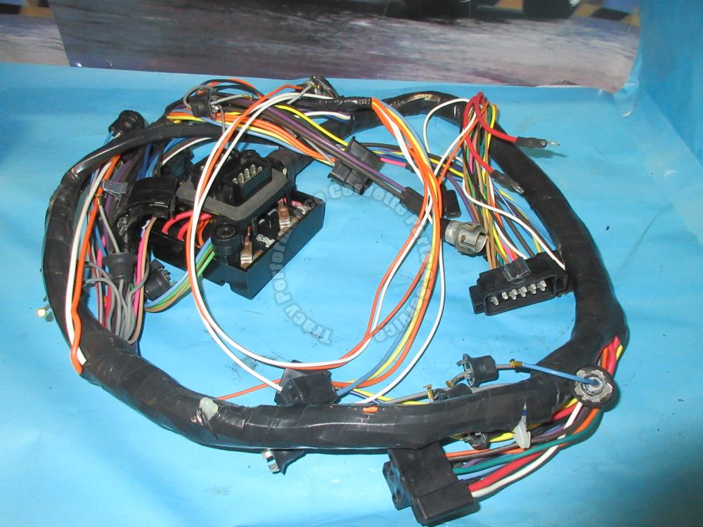 1967 Corvette Dash Main Wire Harness Gm  6291166 Wiring