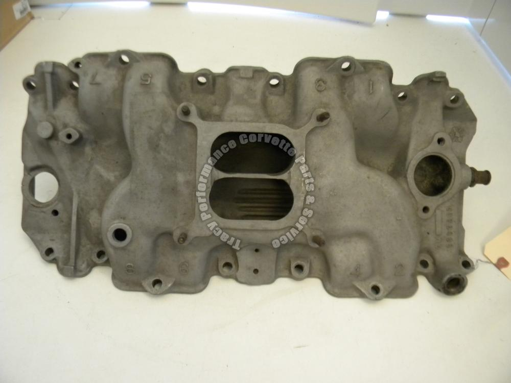 1970-1971 Corvette Chevelle LS-6 3963569 Aluminum Low Rise BBC Large Port Intake