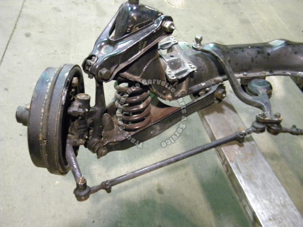 1953 1962 corvette used front suspension crossmember for General motors assembly line job description