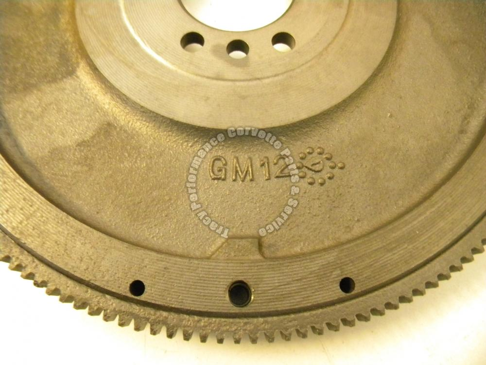 """1963-1971 Chevy 3789733 11"""" 168 Tooth Resurfaced Flywheel 14 1/8"""" OD V8 Engines"""