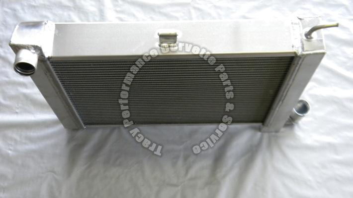 1963 72 corvette replacement alum small block manual trans radiator 63 64 65 72 1965 Corvette 1967 Corvette