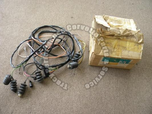 1967 Corvette NOS 6291167 TailLamp Wiring Harness Rear Body Lights, Gas Tank etc