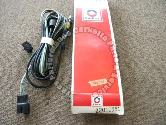 1978-79 Corvette NOS Delco 22010551 Antenna Cable Assembly, for Cars w/CB Radio