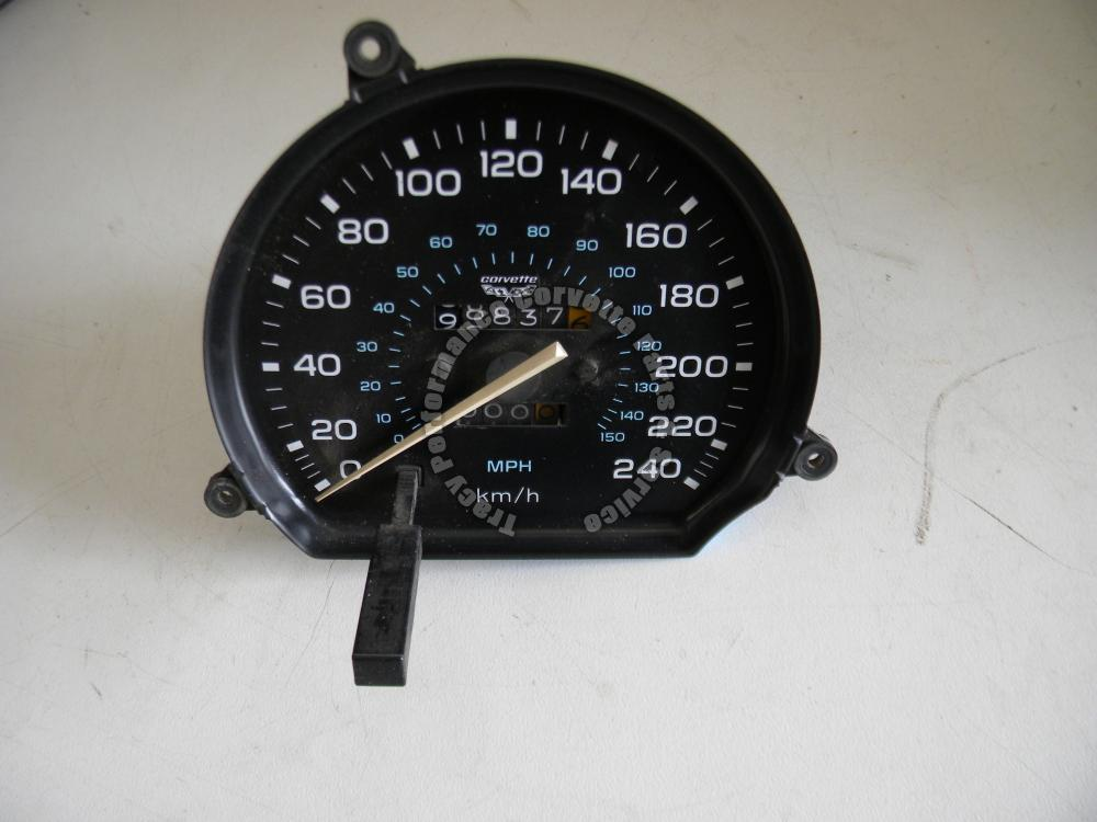 1978-82 Corvette Used Original RARE 240 Km/H Canadian Speedometer 78 79 80 81 82