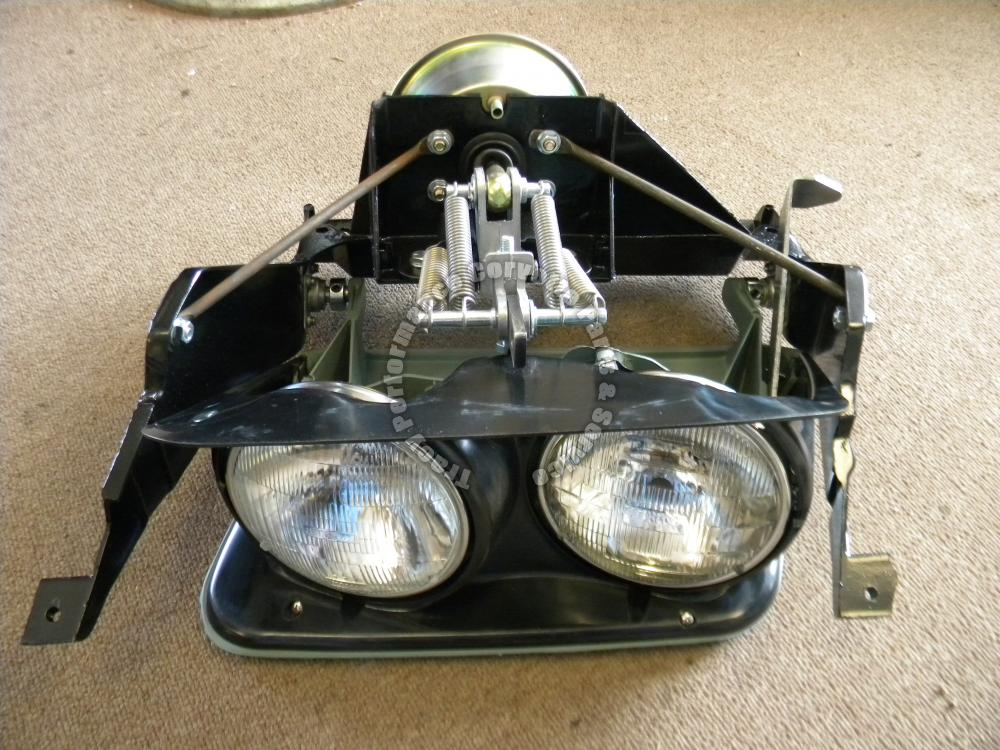 1968l 74 corvette new rh headlight assembly complete 68 69 for General motors assembly line job description