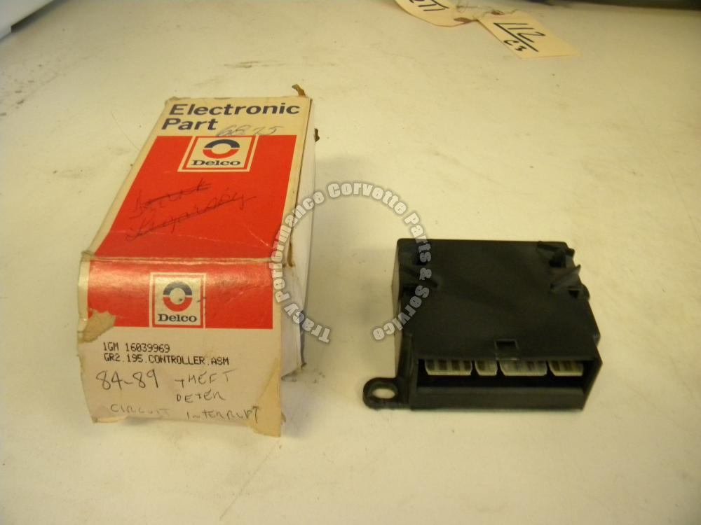 1984-89 Corvette NOS 16039969 Anti Theft Module Deterrent Interrupt