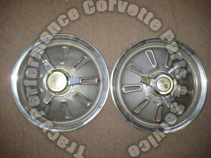 1964 Corvette Original Driver Quality Used Hubcaps
