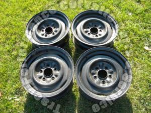 "1965 1966 Corvette Used 3869156 15""x5.5 Wheels Rims/4 Steel Original Disc Brake"