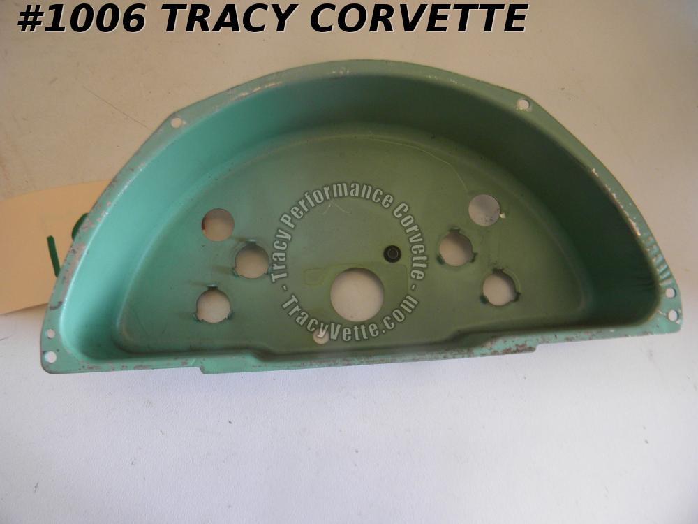 1958-1962 Corvette Speedo Gauge Housing Dated Jan 13,1958 1586928 1585438-W