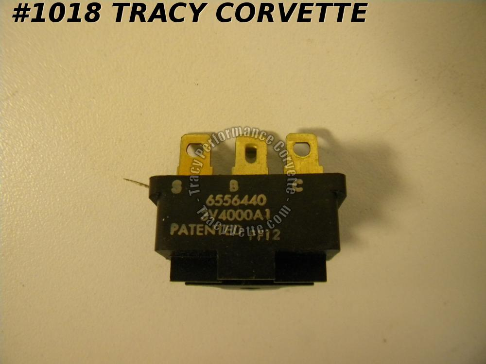 1972-73 Corvette NOS 6556440 Delco 12-279 AC Thermal Limiter Cut Out Switch Fuse