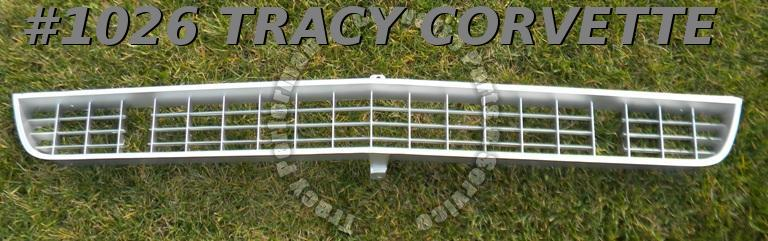 1966-1967 Corvette Front Grille w/o Brackets GM# 3875746  New Second Quality
