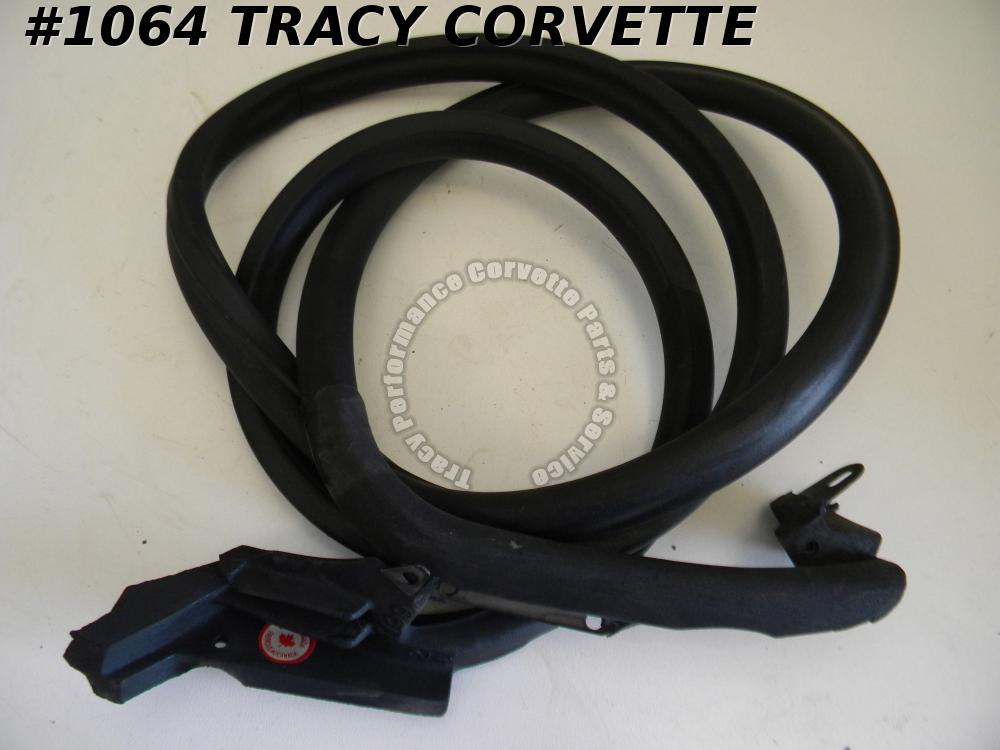 1969-1977 Corvette Coupe Door Weatherstrip RH GM# 3966562 Passenger Side