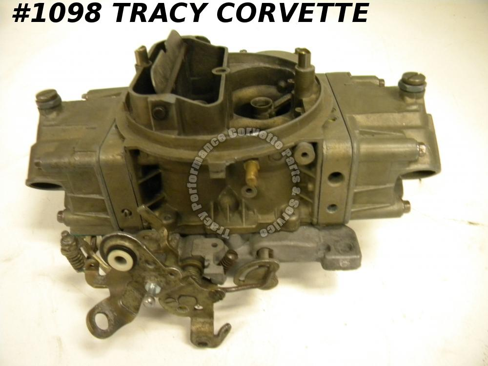 1967-69 Corvette Used L-88 3886091-AN 3418-1 Holley Carburetor Julian Dated 2667
