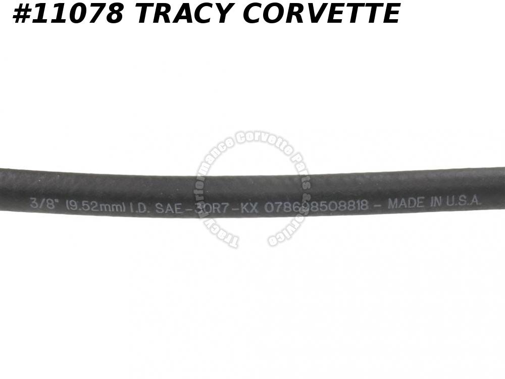 1973-1982 Corvette 9438362 Coolant Recovery Tank Hose to Radiator    Replacement