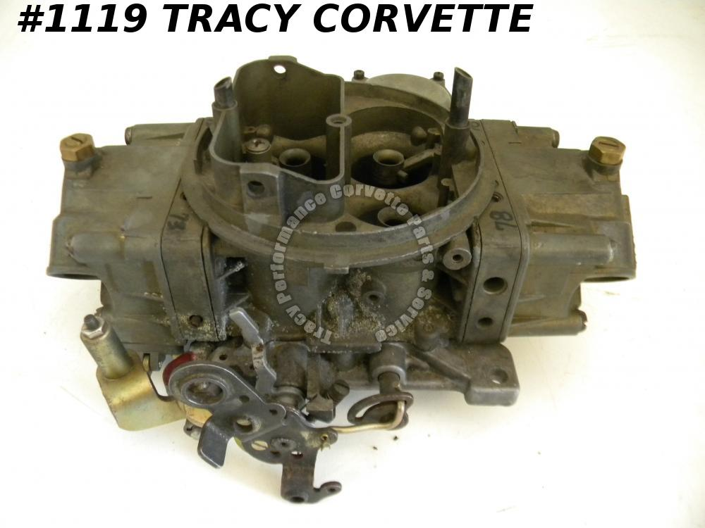 1967-69 Corvette Used L-88 3886091-AN 3418-1 Holley Carburetor Julian Dated 823