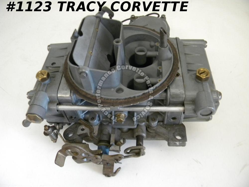 1964-65 Corvette Rebuilt 3849804 List 2818-1 Holley Carburetor Julian Dated 0814