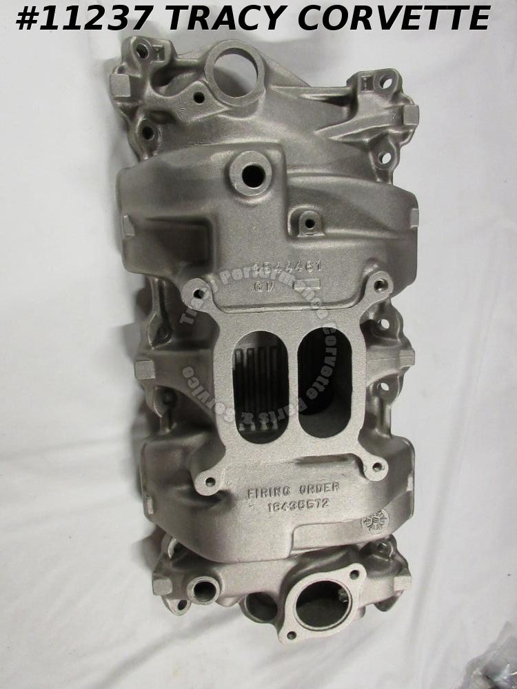 1964-1965 Corvette Modified Used 3844461 Alum Holley High Rise Intake Manifold