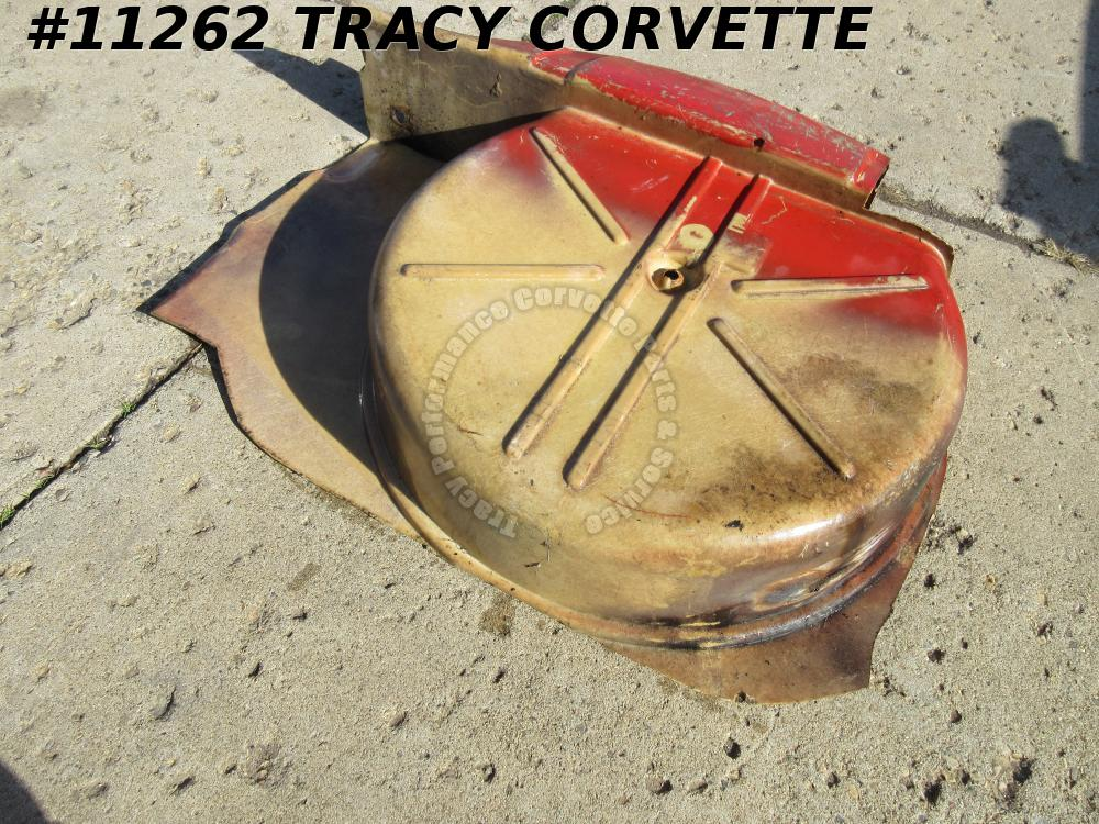 1956-1962 Corvette Used Original Floor Spare Tire Carrier 56 1957 58 59 60 61 62