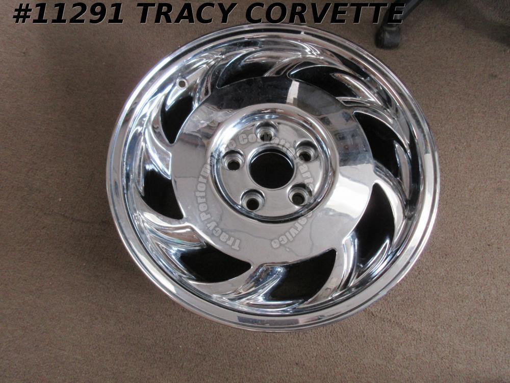 "1993-1996 Corvette Repro of 10180882 17.2""x 9.5"" Wheel RH Rear 93 94 95 96"