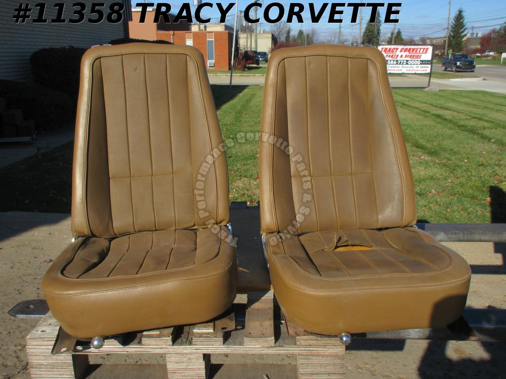 1984-1996 Corvette New Collector Hood Louvers Not Opened Up for Air Venting/Pair