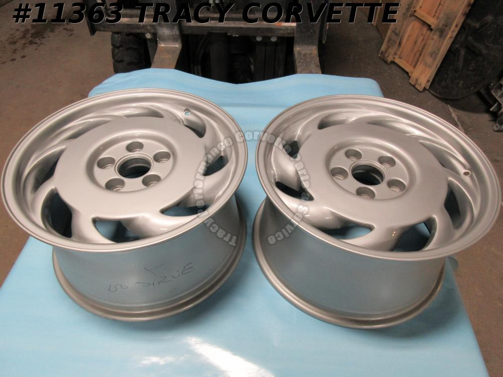 1991-1992 Corvette Used Orig GM 10137823 10137824 17x9.5X56 Wheels/Set of 2 Nice