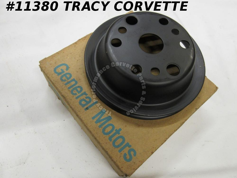 1967-1974 Corvette NOS 3751232 Crankshaft P/Strg Pulley 67 68 69 70 71 72 73 74