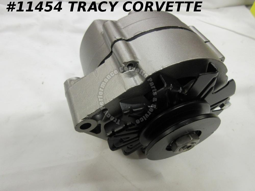 1968 Corvette Original Rebuilt 1100696 42 Amp Alternator Dated 8 D 11 Apr 11, 68