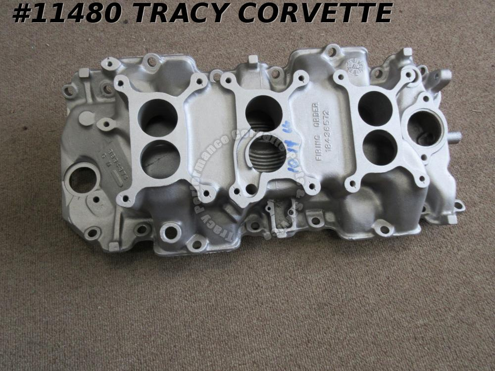 1967 Corvette Used 3894374 427/435 Tri-Power 3 X 2 Intake Manifold Date 10 14 66