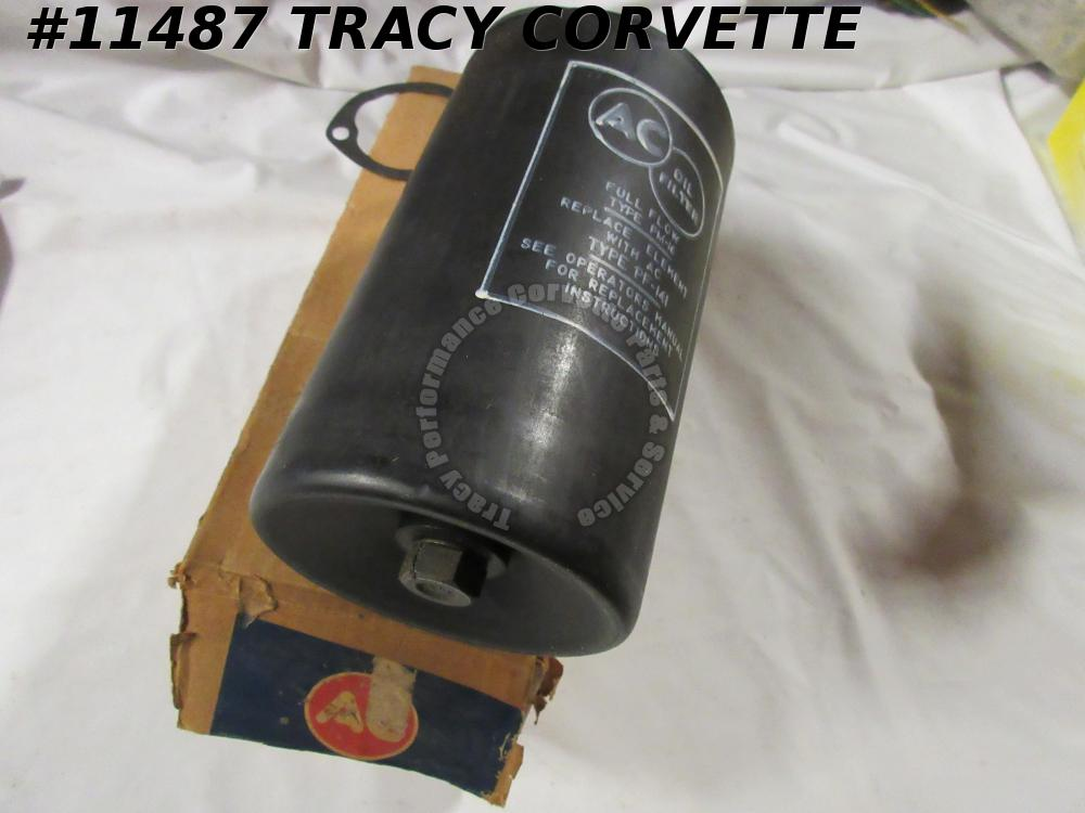 1958-67 Corvette NOS 5574538 Oil Filter Kit AC PM-16 with PF141 Filter