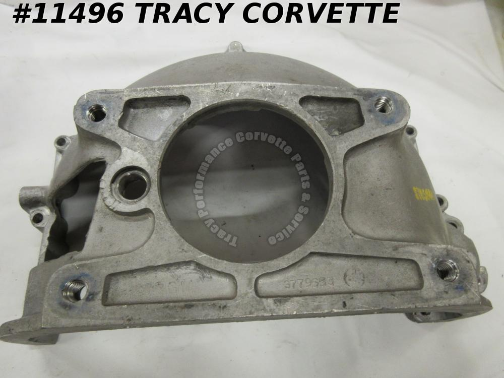 1960L-62 Corvette/61-63 Chevy 409 Used 3779553 Alum Bell Housing w/3765641 Stamp