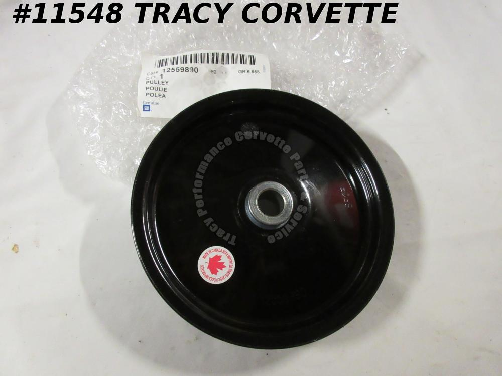1997-04 Corvette New 12559890  LS1 LS6 Power Steering Pulley  98 99 00 01 02 03