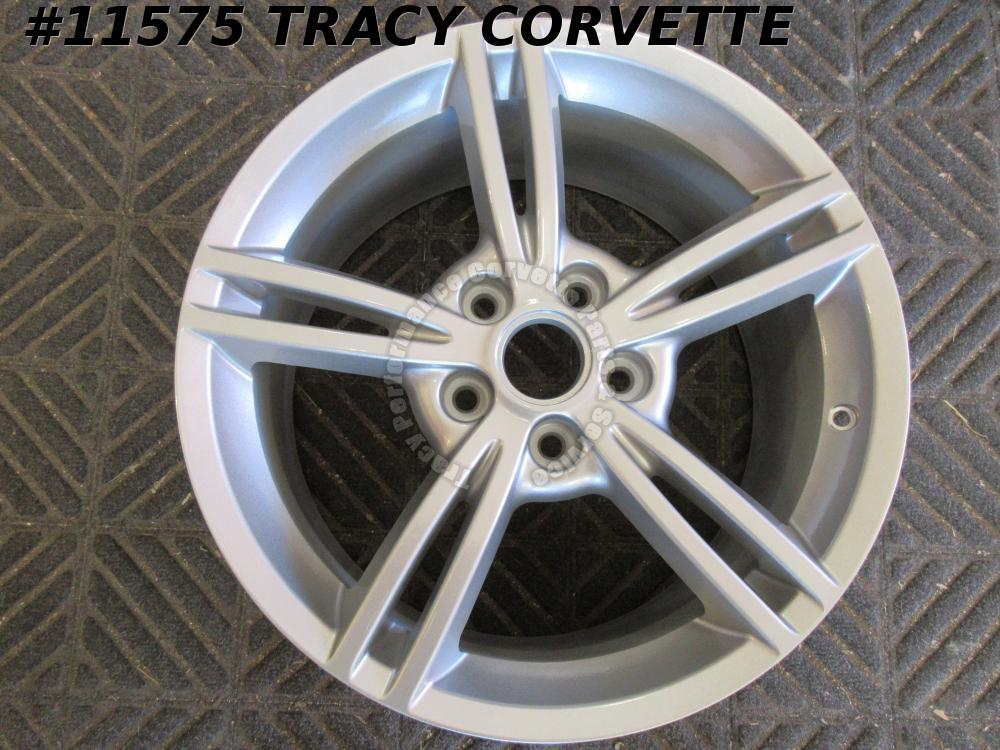 2005-2013 Corvette Refurbished GM 9596780 5 Spoke Fr Wheel w/o/Cap 18x8.5 56 mm