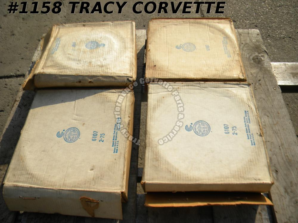 1953-62 Corvette NOS 3985944 Brake Drums/Set of 4 53 54 55 56 57 58 59 60 61 62