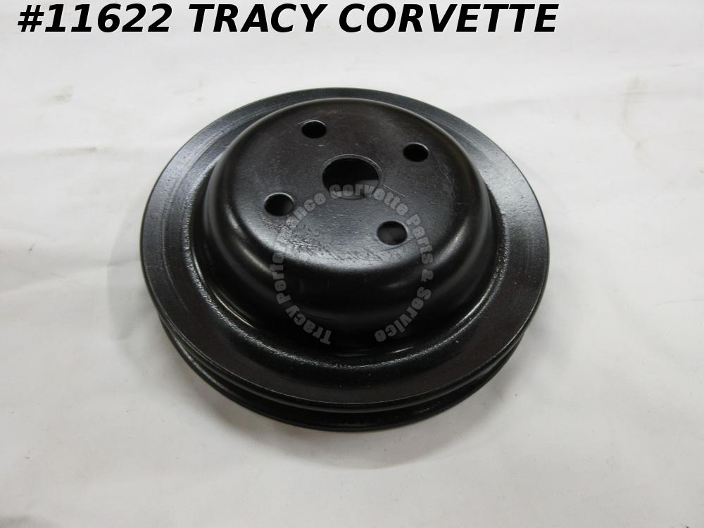 1971-1981 Corvette Refurbished Original 3991425 BX Smog/Water Pump Pulley
