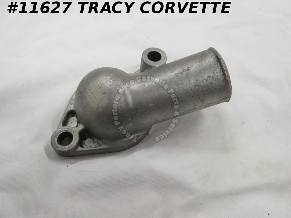 1966-1973 Corvette 3877660 Thermostat Gooseneck Water Outlet Part Number on Base