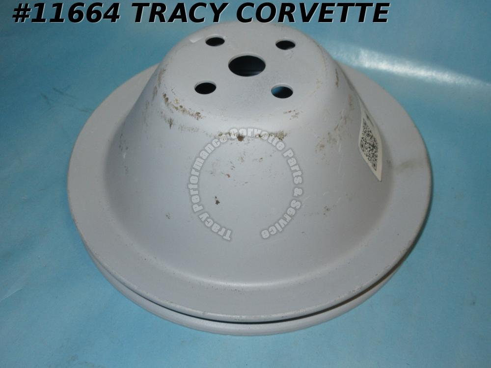 1962-1964 Corvette Refurbished Original 3788472 Fan/Water Pump Pulley Unstamped