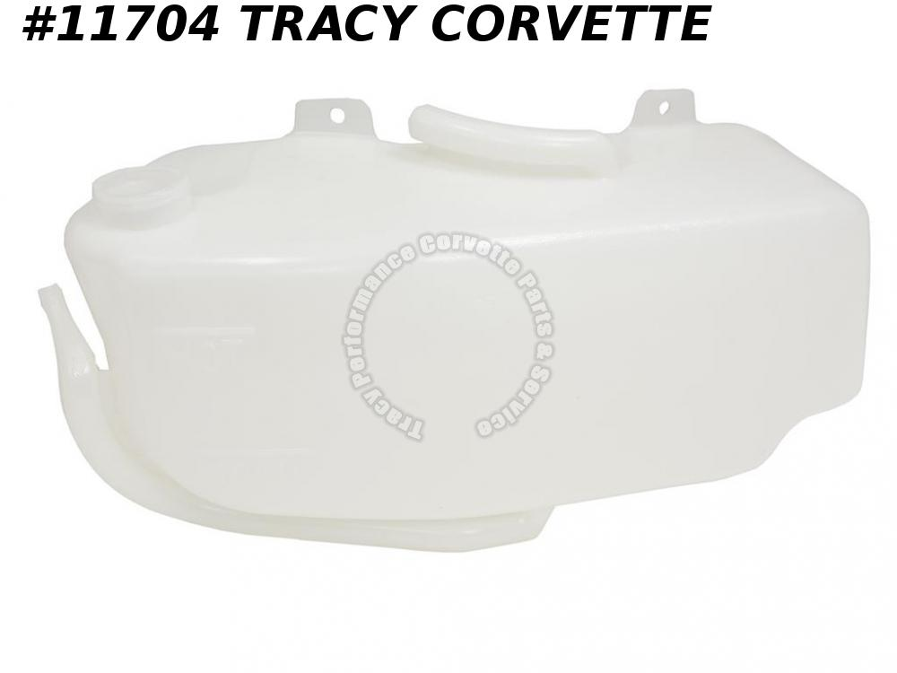 1977-1982 Corvette Coolant Recovery Tank GM# 466626 Reservoir Expansion late 77