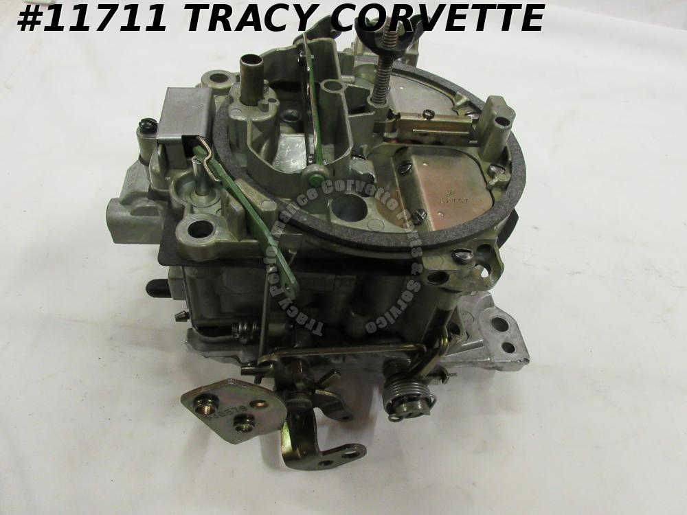 1969 Corvette Rebuilt 7029207 Rochester Q-Jet Carburetor 350 Manual Dated 3412