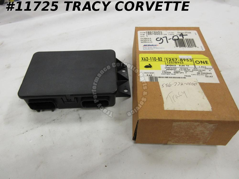 1997-2004 Corvette NOS 12578953 TAC Throttle Actuator Control Module 98 99 00 01