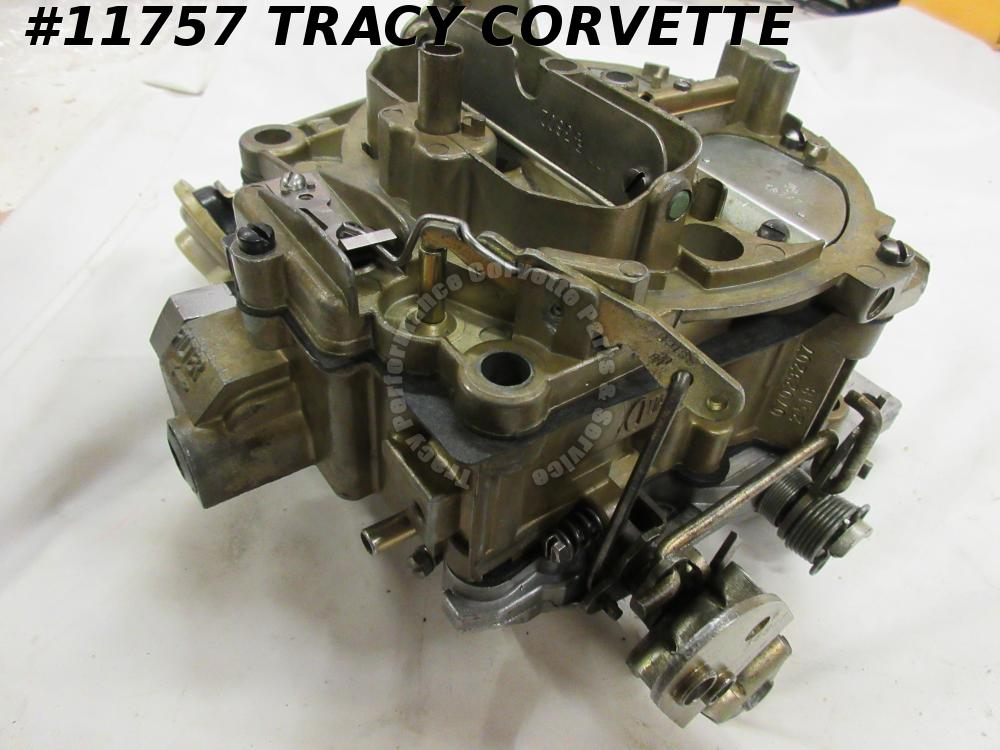 1969 Corvette Rebuilt 7029207 Rochester Q-Jet Carburetor 350 Manual Dated 2518
