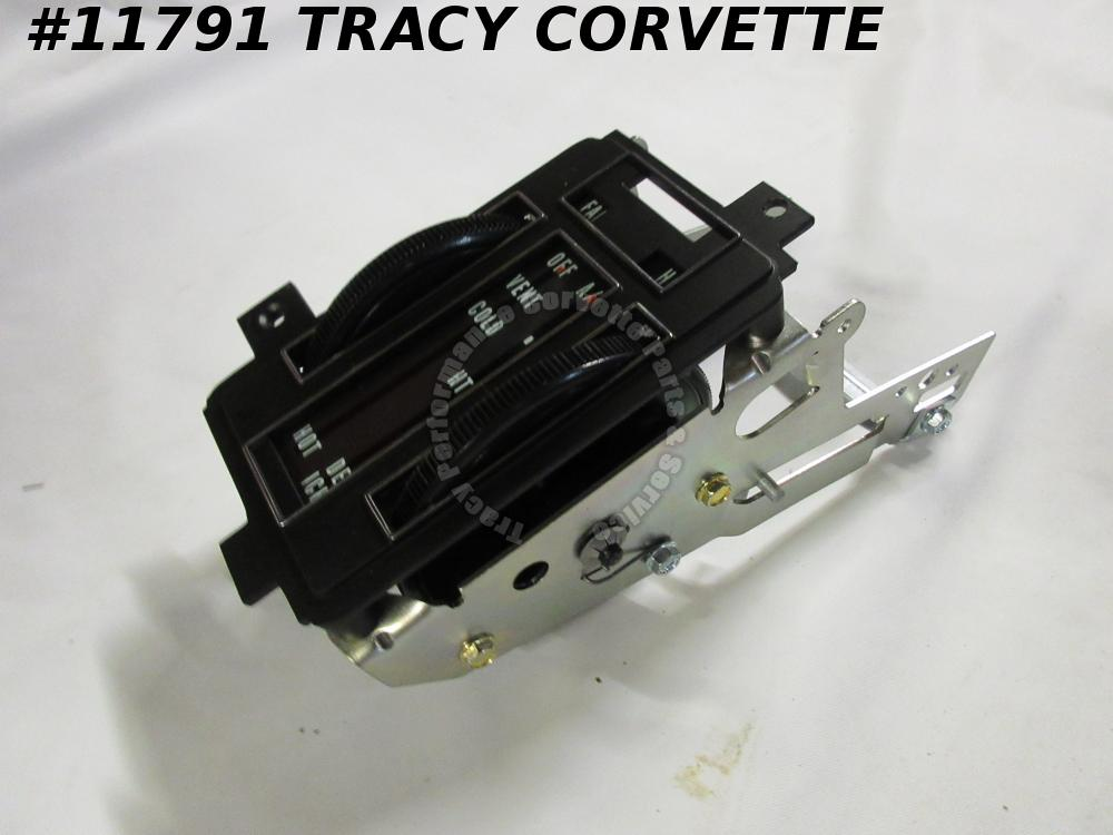 1968 Corvette New Repro 3937178 Heater Control Unit with Air Conditioning 68