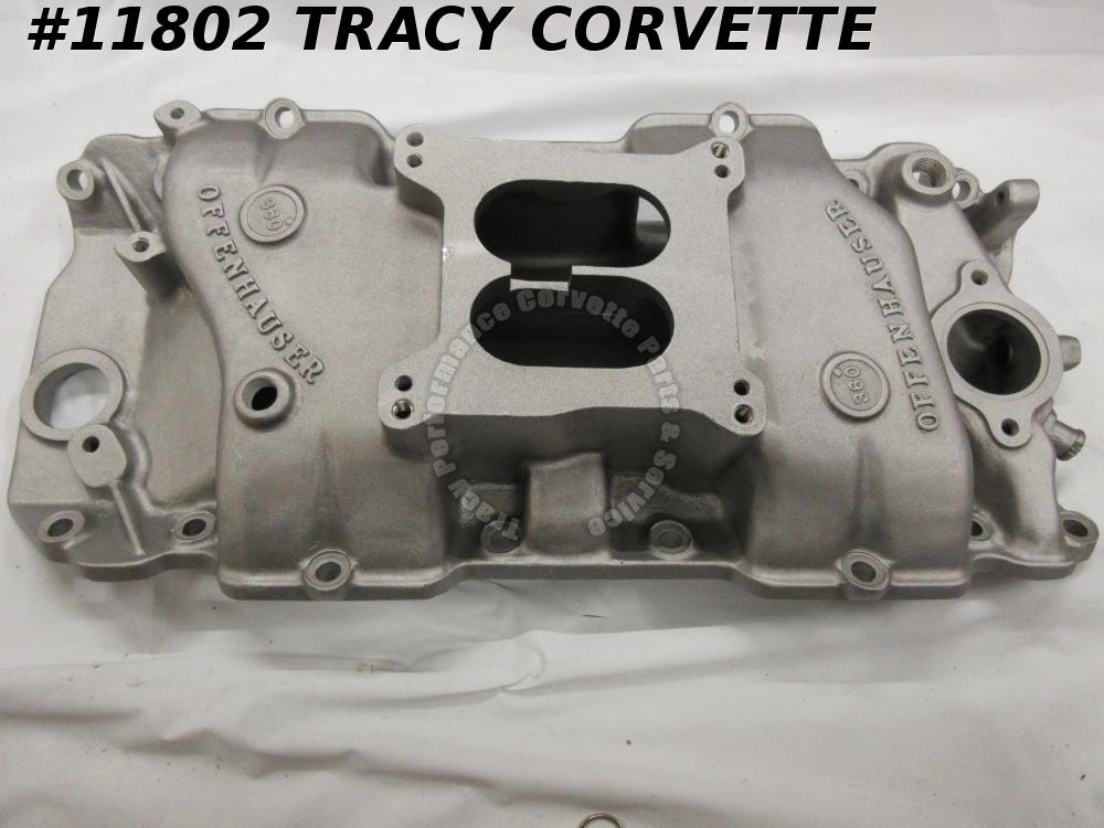 1965-90 Offenhauser Used BBC 360 Al Intake Manifold Model #5766 396/402/427/454